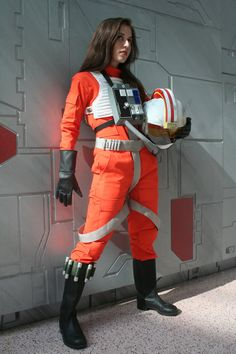 Star Wars Rebel Pilot Cosplay by Scruffy Rebel