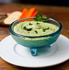 Lucky Leprechaun Dip! Creamy green goodness.