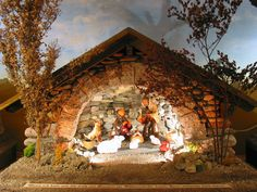 Nativity Scene Of Adoration Christmas Crib Ideas, Christmas Nativity, Christmas Pictures, Christmas Diy, Holiday, Previous Question Papers, Nativity Stable, Christmas Villages, Xmas Crafts