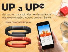Jawbone UP, UP24 - Monitory aktivity vo forme náramku s prepracovanou aplikáciou a pokročilými funkciami.