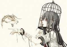 Anime #cage