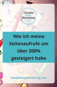 seitenaufrufe-steigern-1 Marketing Trends, E-mail Marketing, Facebook Marketing, Content Marketing, Social Media Marketing, Online Marketing Strategies, Digital Marketing Strategy, Seo Online, Pinterest Marketing
