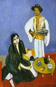 Henri Matisse, Caffè,1916 olio su tela, cm 100,6 x 65,4 Detroit Institute of Arts lascito di Robert H. Tannahill #RaffaelloversoPicasso #Vicenza