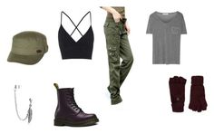 Property of HYDRA - Tammy's outfit by ramadiii on Polyvore featuring polyvore fashion style T By Alexander Wang Topshop Dr. Martens Bling Jewelry Roxy Accessorize clothing