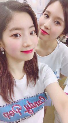 """Dahyun&Mina-Twice 180123 """"Candy Pop"""" Japan Showcase Live Tour in Hiroshima Kpop Girl Groups, Korean Girl Groups, Kpop Girls, Extended Play, Nayeon, Asian Woman, Asian Girl, Sana Momo, Twice Dahyun"""