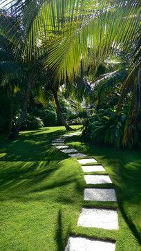 Caribbean Garden Tropical Landscape Miami Craig Reynolds Architecture