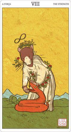 Muroidea Rat Tarot, The Strength