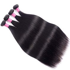 10A Brazilian Virgin Hair Straight Remy Human Hair Weave 4 Bundles 20 22 24 26Inch 100% Unprocessed Brazilian Straight Hair Bundles Natural Black Color Straight Hair Extensions : Beauty Eyebrow Extensions, Colored Hair Extensions, Black Hair Extensions, Braids With Extensions, Clip In Extensions, Weave Hairstyles, Straight Hairstyles, Irresistible Me Hair Extensions, Remy Human Hair