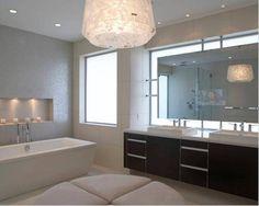 Modern bathroom mirror lighting Led Light Bathroom Vanity Mirrors With Lights Modern Bathrooms Modern Bathroom Light Fixtures Contemporary Bathroom Lighting Pinterest 107 Best Bathroom Lighting Over Mirror Images Bathroom Light