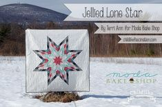 Jellied Lone Star is up at the Moda Bake Shop!!