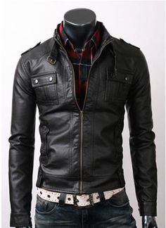 I found 'handmade Men Black Leather Jacket, men black leather jacket, Men slim black leather jacket with flap button pocket and belted collar' on Wish, check it out! Men's Leather Jacket, Biker Leather, Leather Men, Black Leather, Leather Jackets, Lambskin Leather, Real Leather, Motorcycle Leather, Custom Leather