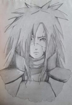 Creative JArt on Behance Madara Uchiha, Jiraiya Y Naruto, Naruto Art, Anime Naruto, Manga Anime, Naruto Sketch, Naruto Drawings, Anime Sketch, Edo Tensei