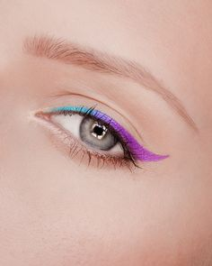 Blue Purple Winged Liner | GORGEOUS