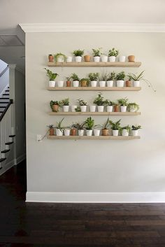 7 Unbelievable Cool Tips: Floating Shelves With Lights Subway Tiles floating shelves under mounted tv built ins.Floating Shelves Around Tv Living Rooms floating shelves arrangement family photos. House Plants Decor, Plant Decor, Shelves Around Tv, Built In Wall Shelves, Wall Bookshelves, Small Shelves, Hanging Shelves, Living Room Decor, Bedroom Decor