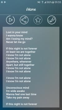 Alone Lyrics, Lyrics Of English Songs, Sing Me To Sleep, Never Let Me Go, Art Activities For Kids, Alan Walker, Android Apk, Lose My Mind, Hit Songs