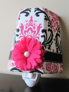 Hey, I found this really awesome Etsy listing at http://www.etsy.com/listing/91934750/black-and-hot-pink-damask-girls-night