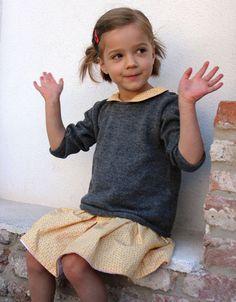 Alpaca baby sweater in natural grey - Wild Wawa Toddler Sweater, Baby Alpaca, Baby Sweaters, Children, Natural, Grey, Clothes, Tops, Women