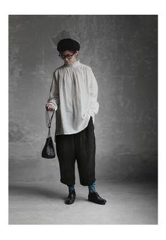 【楽天市場】【送料無料】Joie de Vivre東炊きリネンダブルクロスドビーグースパンツ:BerryStyleベリースタイル Mori Fashion, Hijab Fashion, Fashion Outfits, Streetwear Mode, Streetwear Fashion, Mori Mode, Bohemian Mode, Outfit Grid, Tokyo Fashion