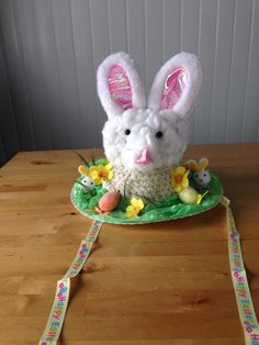 Lucy's Easter bonnet for school
