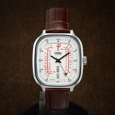 Slava Medical Unique NOS Soviet Doctors Watch From - mens watch ladies square watch pulse heart rate omega longines tissot cartier iwc by on Etsy Mechanical Hand, Mechanical Watch, Gents Watches, Iwc, Luxury Watches For Men, Timeless Classic, Square Watch, Chrome Plating, Men's Watches