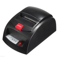 USB Network Mini 60mm POS Thermal Dot Receipt Printer Electronic Cash Drawer