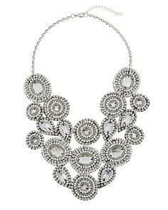 bib necklace from White House Black Market