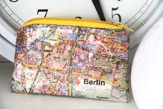 DIY Täschchen aus Berlin Serviette | kleben und nähen | was eigenes Blog