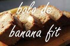 174. Bolo De Banana FIT Com Aveia | Healthy Banana Cake
