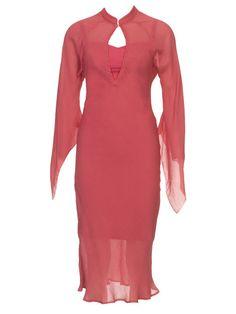 Burdastyle, caftan dress, butterfly sleeves