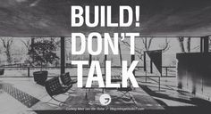 Builddddd ... dat dus!!  Architecture quote!!  #koopenpartners #architecture #architecturelovers #architectureporn #architecturephotograpy  #building #interiordesign #urban #deco #cities #street #bouw #town #design #art #ontwerp #huizen #onsdarp #havenvanhuizen #tgooi #mooihuizen #architectureqoute