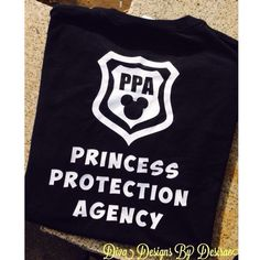 Princess Protection Agency Disney Shirt by DivaDesignsByDesirae on Etsy https://www.etsy.com/listing/211799266/princess-protection-agency-disney-shirt