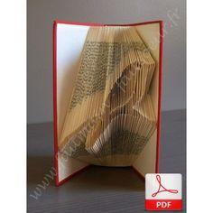 77 meilleures images du tableau tuto en papier paper diy livres plies travaux manuels. Black Bedroom Furniture Sets. Home Design Ideas