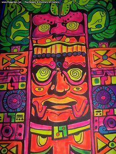 vicion siega psydeco psychedelic open air italy fluoro decor psytrance festival