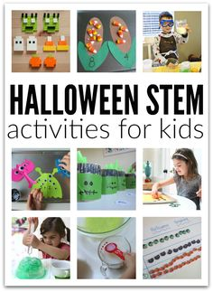 HALLOWEEN STEM ACTIVITIES FOR KIDS NO TIME FOR FLASH CARDS