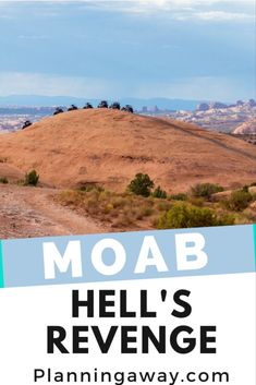 Have you heard of Hell's Revenge in Moab, Utah? It is an off-roading adventure of a lifetime! People from all over bring jeeps, UTV, and other Sports Utility Vehicles to have a little fun on one of the most thrilling trails in Utah. We recently decided to try this trail out. I had no idea what I was getting into. It was crazy, scary, and thrilling all at the same time. Moab Utah, Winter Travel, Revenge, Great Places, Offroad, Trail, Utah Vacation, National Parks, Hiking
