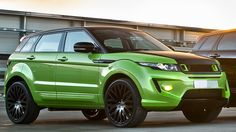 Land Rover Evoque forever green by May 2015