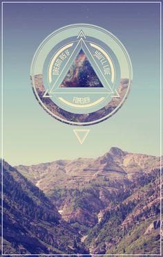 love the triangular portion/design. Geometric Reveries by Bob Sparks.