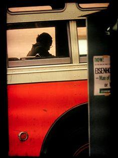 Saul Leiter, Bus, 1954