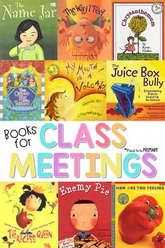 Help children build social responsibility skills in the classroom by reading children's books during your classroom meetings. Check out the book list with examples of what to read during classroom meetings. Teacher Freebies, Teacher Resources, Teaching Tools, Creative Teaching, Social Emotional Learning, Social Skills, Social Work, Meeting Book, Meeting Planner