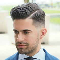 Side Part Hairstyles & Parted Haircuts for Men 2019 Side Part Haircut A Classic Gentleman S Hairstyle 2019 Guide Side Part Haircut, Side Part Hairstyles, Undercut Hairstyles, Modern Hairstyles, Easy Hairstyles, Puff Hairstyle, Hairstyle Men, Really Short Haircuts, Haircuts For Men
