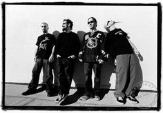 John, Serj, Daron y Shavo