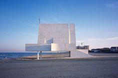 El estudio Vector ha levantado una capilla que salva el mar en pekin