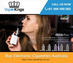 Are you looking for quality electronic cigarettes in Australia? At Vapor Kings, we have a huge selection of E-cigarettes that meet the highest quality standards. From starters to pro, we cater for everyone who needs products to enjoy their vaping experience. We have varieties of starter kits, advanced kits, atomisers, tanks, nicotine, vaporizers, batteries, chargers and adapters, e-liquid and more. Buy them at best prices from us!