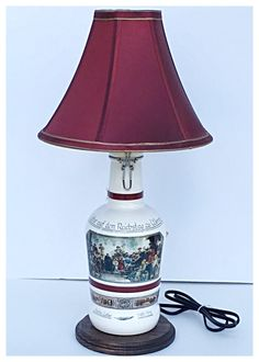 STOLI Vodka Liquor Bottle TABLE LAMP Light /& Wood Base Bar Lounge Man Cave Decor