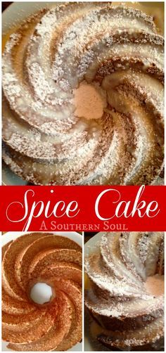 Cinnamon, nutmeg & ginger in a rich baked swirl finished off with sugar ~ celebrate your day with Spice Cake!