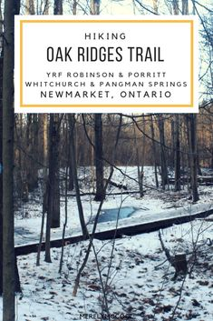 Hiking Oak Ridges Tr