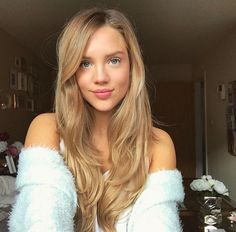 220g Dirty Blonde Luxy Hair Extensions Beautiful Girl Hair Inspo