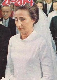 The Infanta Margarita of Spain (b. 1939), The 1st Duchess of Soria (from 1981) and 2nd Duchess of Hernani (from 1981) in her own right. She is a daughter of The Infante Juan The Count of Barcelona and his wife, The Princess María de las Mercedes Cristina of Bourbon-Two Sicilies. She is the wife (from 1981) of Carlos Zurita y Delgado. Her children are Alfonso and María Sofía Zurita y de Borbón.
