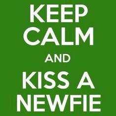 Kiss a Newfie!