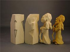 """This is for my carving group friends; it looks """"doable""""."""